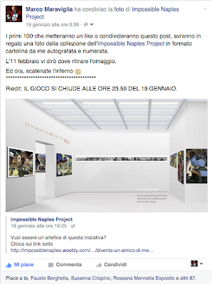 La Cartolina di Impossible Naples Project