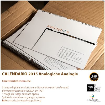 Calendario 2015 Analogiche Analogie by Photo Polis