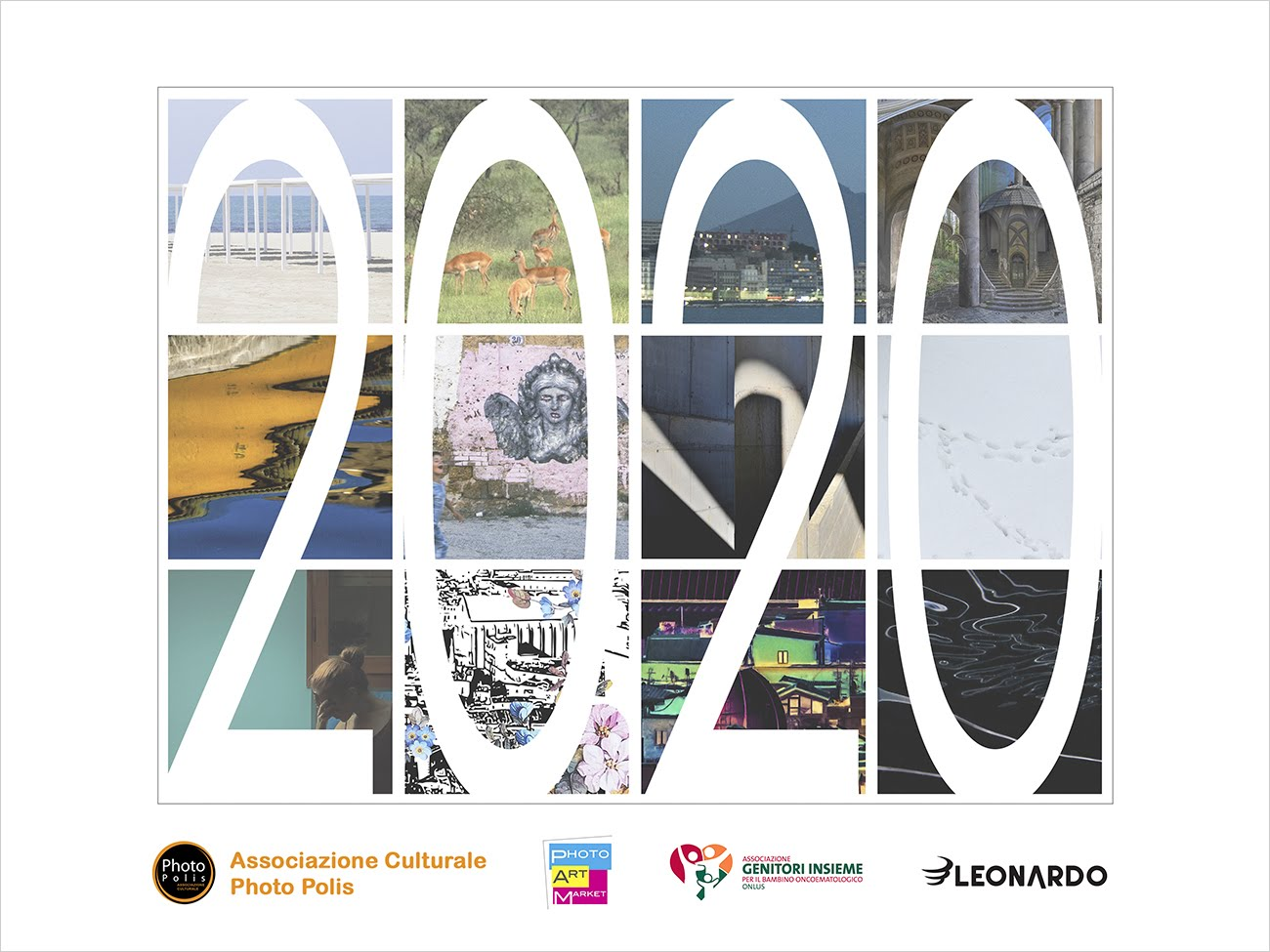 Calendario PAM - Photo Art Market 2020 Genitori Insieme Phorto Polis